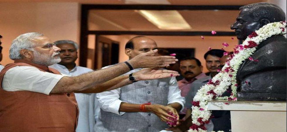 BJP observes death anniversary of Deendayal Upadhyaya (File Photo)