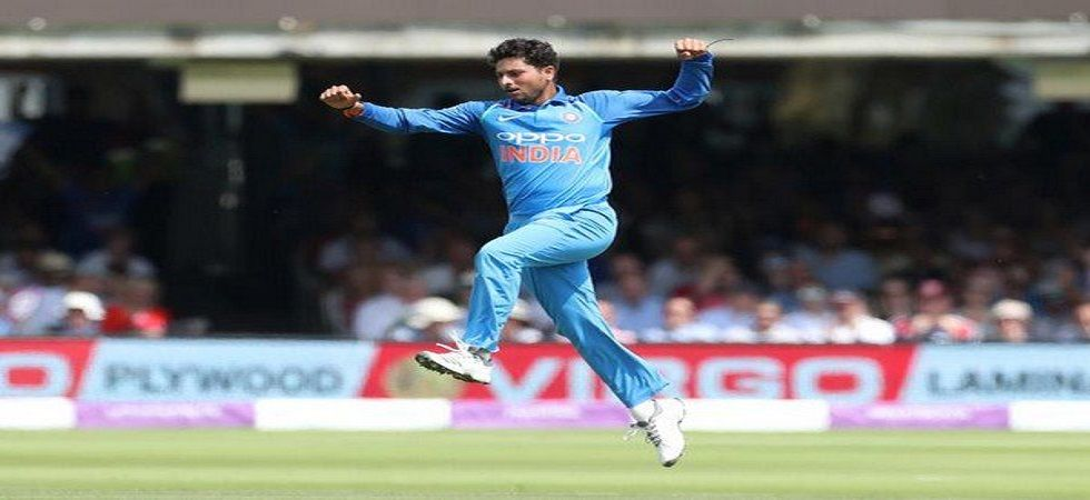 Kuldeep Yadav was the star performer during the tour of New Zealand and he moved up in the ICC rankings. (Image credit: Twitter)