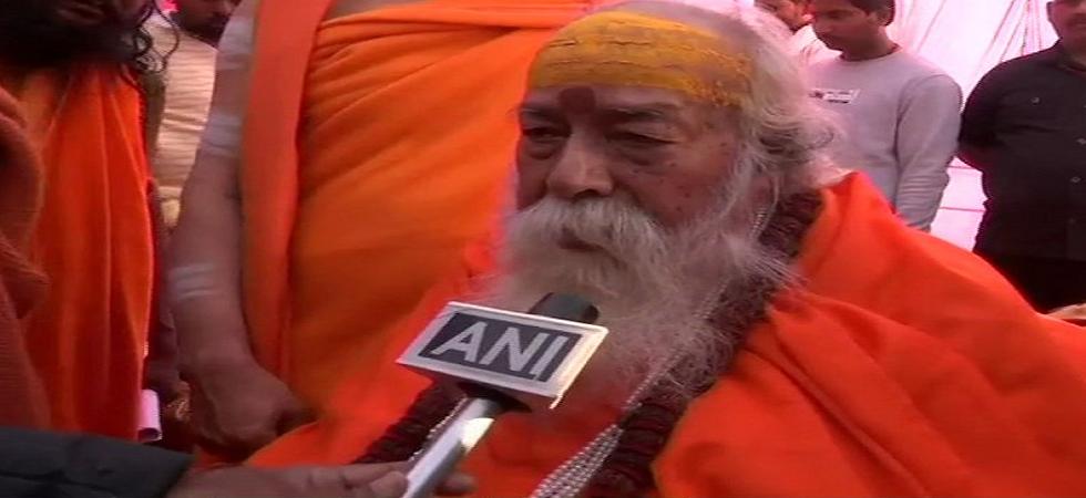 Religious leader Swami Swaroopanand Saraswati