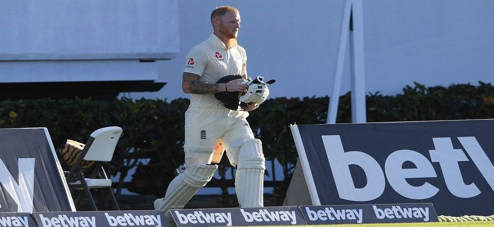 Ben Stokes was called back from the dressing room after being dismissed following Alzarri Joseph's no-ball. (Image credit: Twitter)