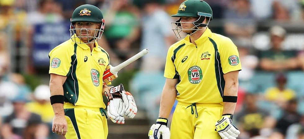 Steve Smith is under a fitness cloud while David Warner could play in the fourth ODI against Pakistan as their year-long suspension ends. (Image credit: Twitter)