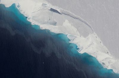 Gigantic cavity in Antarctic glacier signals rapid decay: NASA