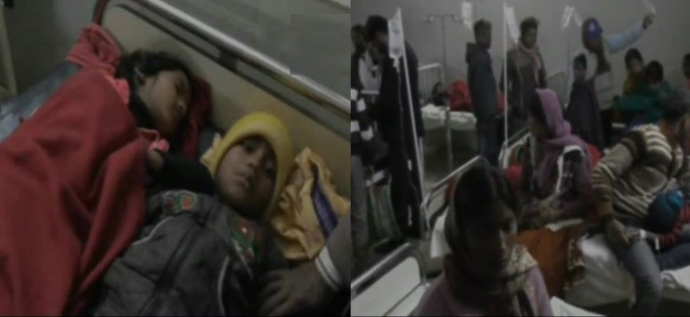 All sick students have been taken to local Sadar hospital after the shocking incidents. (Image tweeted by ANI)