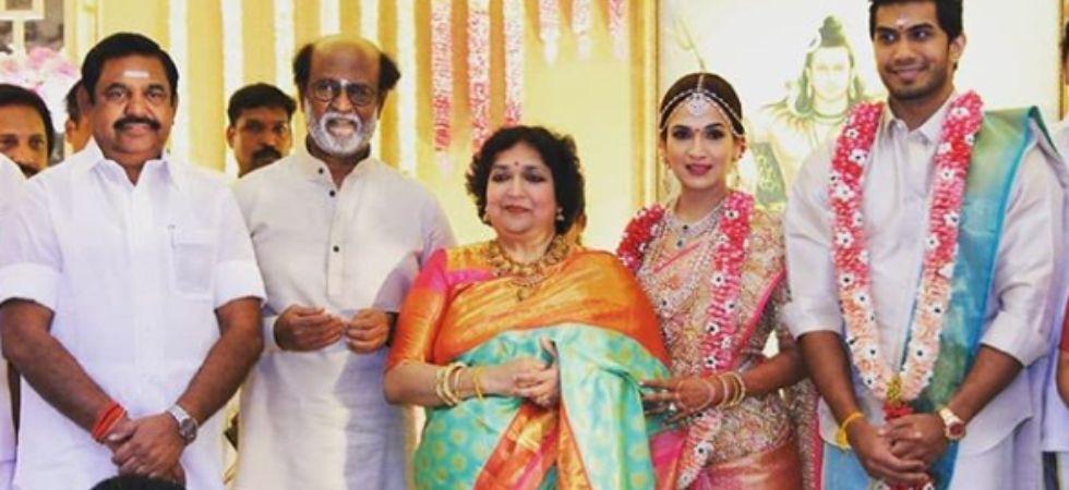 Soundarya tied the knot with businessman and actor Vishagan Vanangamudi./ Image: Instagram