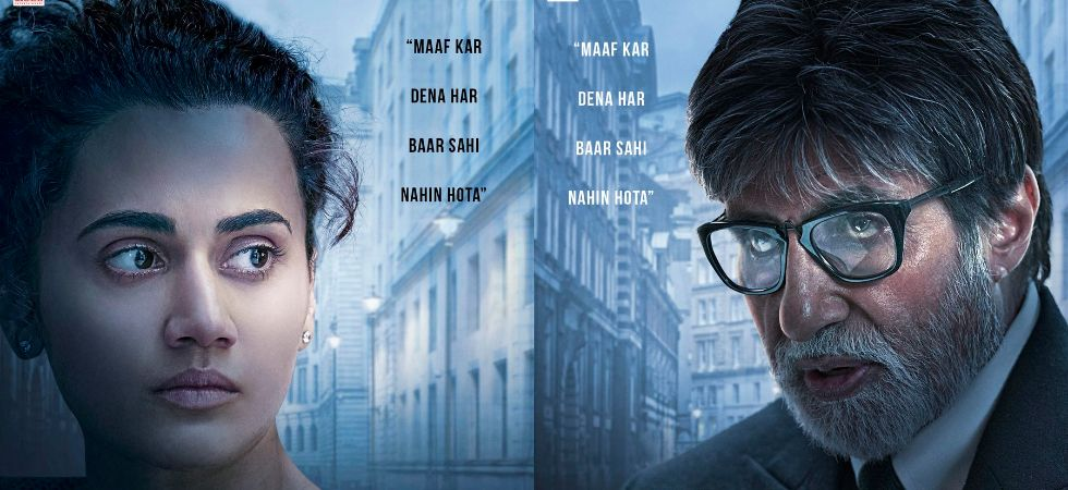 Big B and Taapsee Pannu's intense look in Badla will leave you intrigued