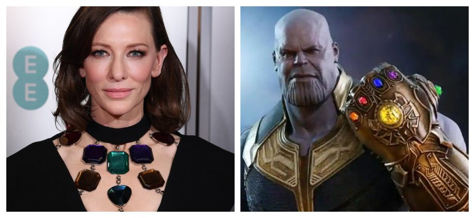 Netizens go crazy over Cate Blanchett's BAFTA outfit after seeing it resembled Infinity Stones