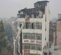 Karol Bagh fire: Emergency exit of hotel was locked, says Union Minister Alphons