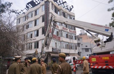 Karol Bagh fire: Delhi Police registers case under IPC Sections 304, 308