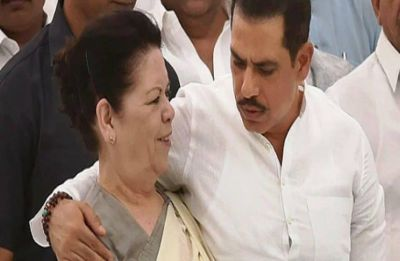 God with us, says Vadra ahead of ED grilling, questions 'vindictive govt' for harassing his mom