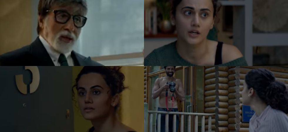 The much-awaited trailer of Amitabh Bachchan and Tapsee Pannu starrer Badla is out./ Image: YouTube