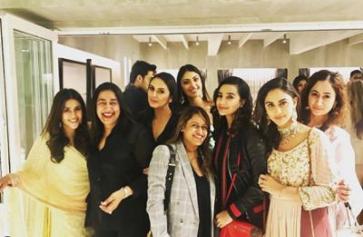 Karan Johar, Abhishek Bachchan and others attend Ekta Kapoor's baby Ravie's naamkaran ceremony