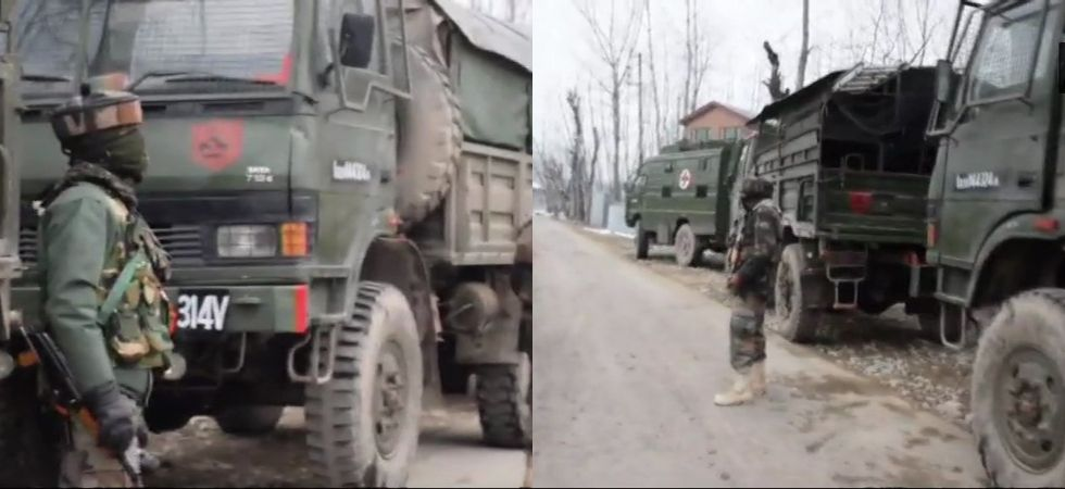 Jammu and Kashmir: Encounter underway in Ratnipora area of Pulwama district