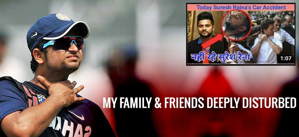 Indian cricketer Suresh Raina rubbishes the car accident reports