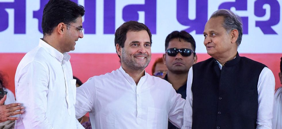 The Congress is ruling Rajasthan now under the collective leadership of Chief Minister Ashok Gehlot and Deputy Chief Minister Sachin Pilot. (File photo: PTI)