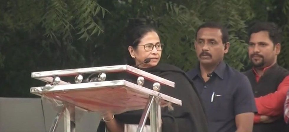 Mamata Banerjee said that opposition parties will fight unitedly at the national level. (Image Credit: ANI)