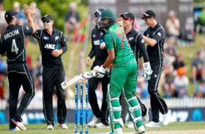 New Zealand thrashed Bangladesh to go 1-0 up in three-match ODI series
