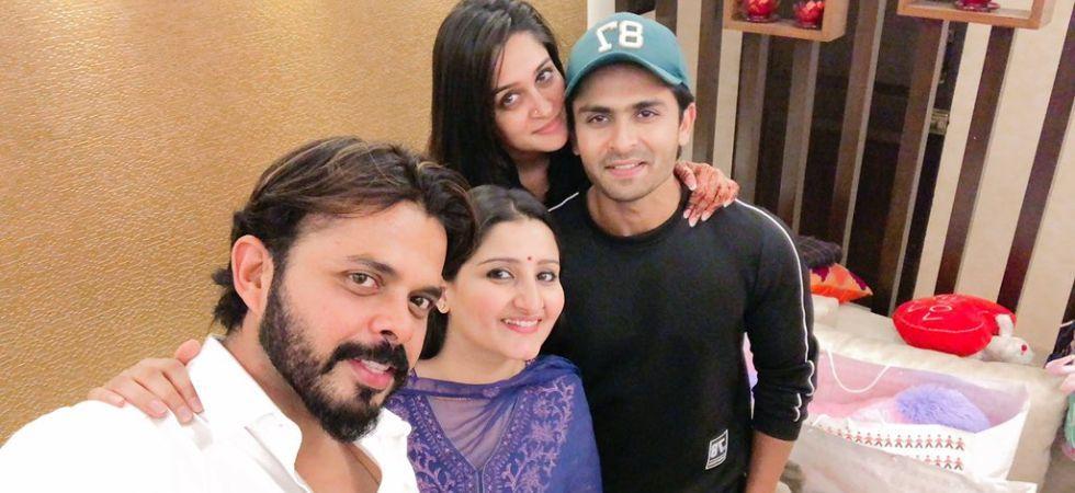 Sreesanth has unfollowed sister Dipika Kakar on Instagram./ Image: Twitter