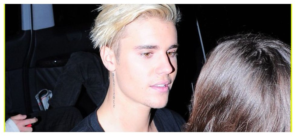 Justin Bieber undergoing treatment for depression (Photo: Twitter)