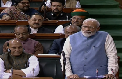 From 'hug' to 'earthquake', how PM Modi took dig at Rahul Gandhi in Lok Sabha speech