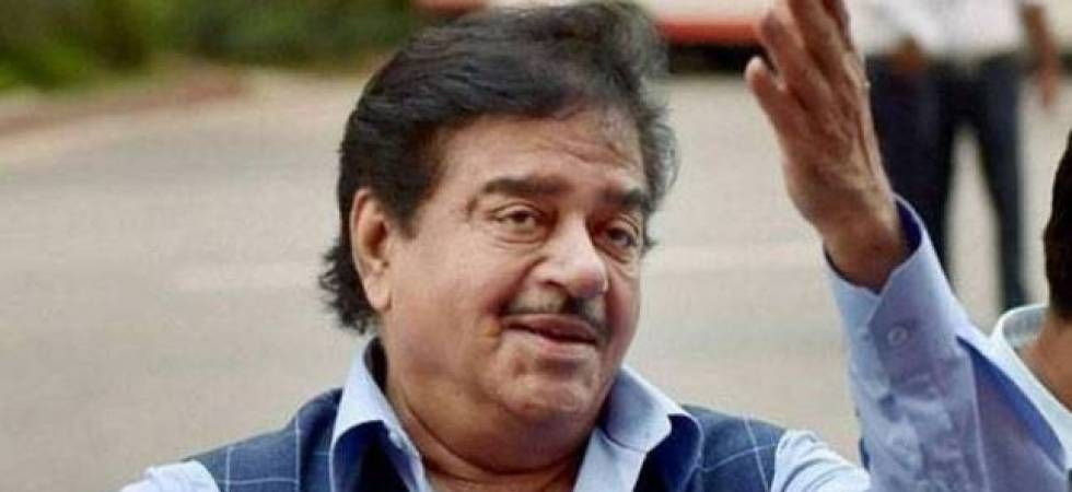 Shatrughan Sinha joins opposition rally in Delhi, takes dig at PM (file photo)