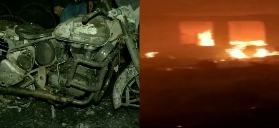 The fire was brought under control in 2 hours. (Photos: ANI)