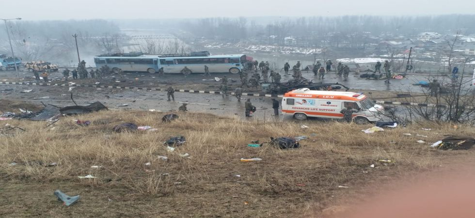 42 CRPF jawans killed in Pulwama IED blast (News Nation)