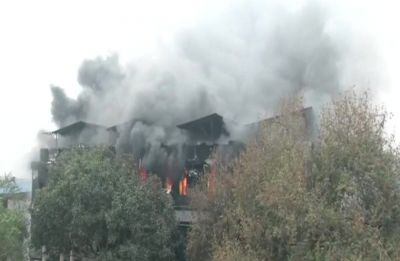 2 hours on, Naraina factory blaze continues, 29 fire engines at spot