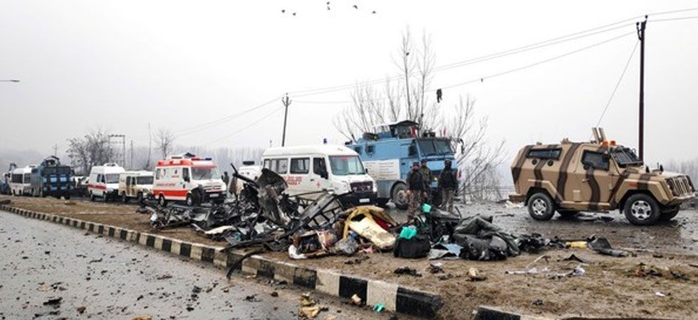 This was the first suicide car bomb strike in Kashmir since the 2001 attack on the Jammu and Kashmir Legislative Assembly. (Image Credit: ANI)