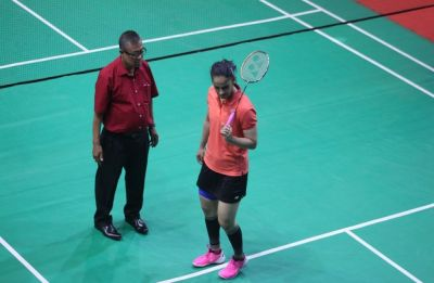 Ace Shuttler Saina Nehwal refuses to play on uneven surface at Senior National Badminton Championship