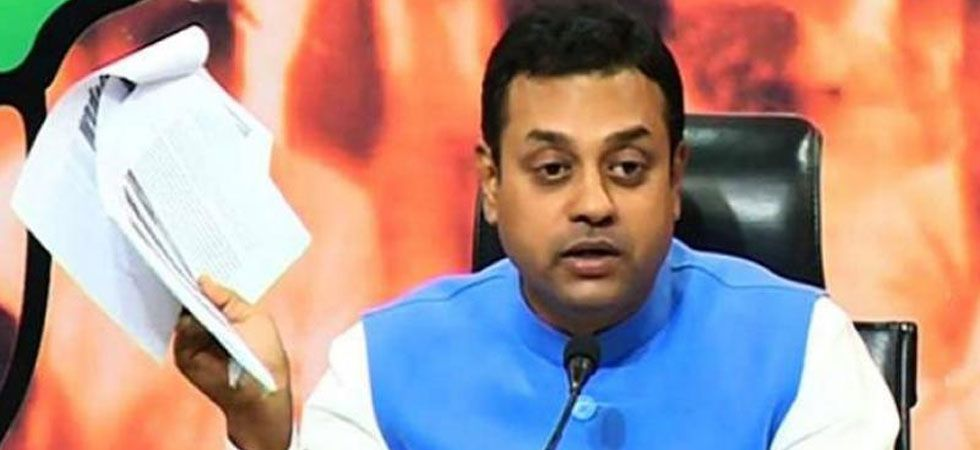 "Sambit Patra said that, ""we can't believe a democratically elected chief minister can use this type of language for Supreme Court. (File Photo"