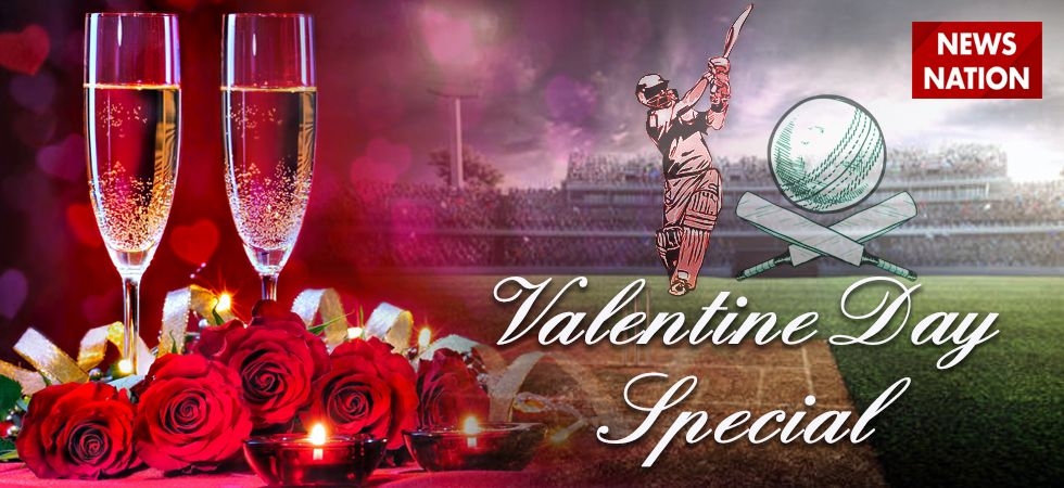 Indian Cricketers celebrate Valentine's Day in style.