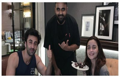 Ranbir Kapoor and Alia Bhatt end their Valentine's Day with a private dinner, Check out pic here
