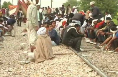 Gujjars continue to block rail tracks, highways on eighth day of agitation