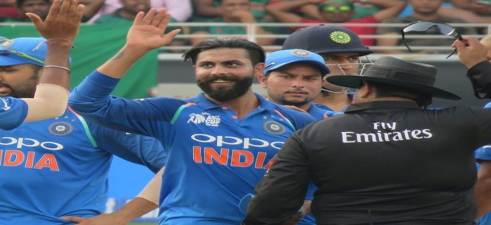 Ravindra Jadeja's exclusion for the Australia series has made his prospects of featuring in the ICC Cricket World Cup 2019 in England difficult. (Image credit: Twitter)