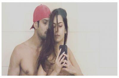 Netizens not impressed with Prateik Babbar, Sanya Sagar's steamy Valentine's Day picture, gets trolled