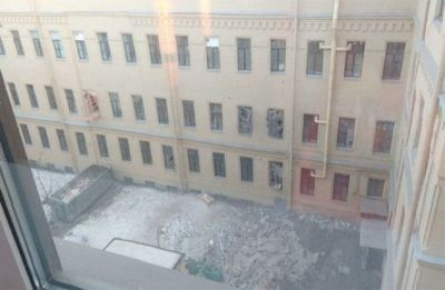 Russia: University building collapses in St. Petersburg, many feared trapped