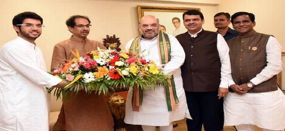 The Uddhav Thackeray's party had contested on 22 seats, while the BJP fielded its candidates on 26 seats in the 2014 General Elections.