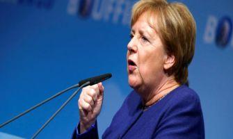 Angela Merkel says US calling European cars a threat is 'frightening'