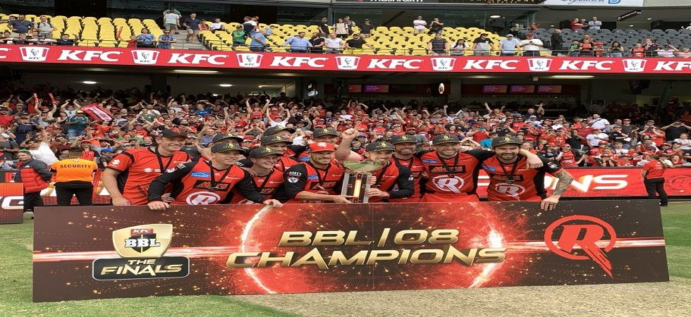 Melbourne Renegades wins Big Bash League for the first time in the franchise history