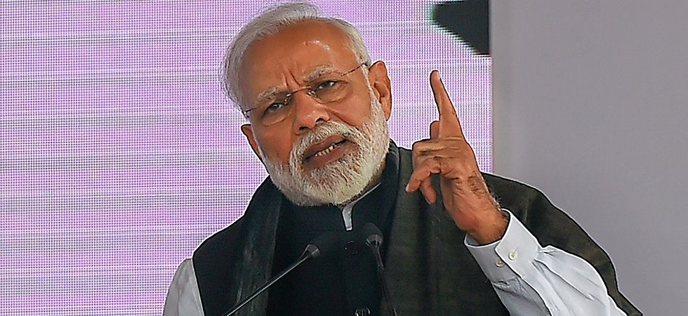 Prime Minister Narendra Modi at Bihar's Barauni