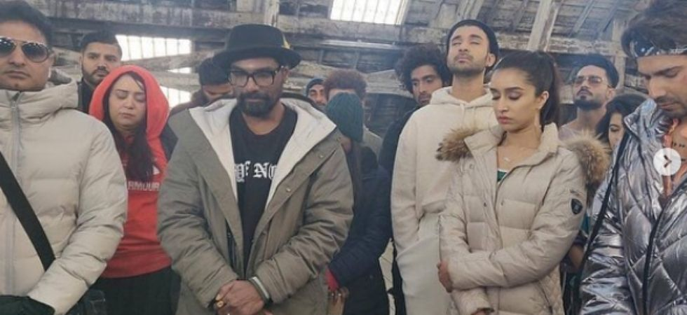 Varun Dhawan and Shraddha Kapoor are shooting for Street Dancer./ Image: Instagram