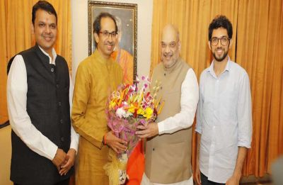 Tie-up on cards? BJP president Amit Shah to meet Shiv Sena chief Uddhav Thackeray today