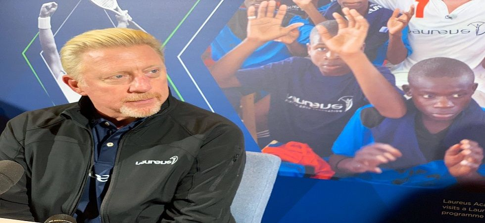 Boris Becker feels both Rafael Nadal and Novak Djokovic might have to win more than 20 titles to break Roger Federer's record. (Image credit: Twitter)