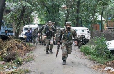 Jammu and Kashmir: Security forces launch cordon and search operation in Shopian's Krawora