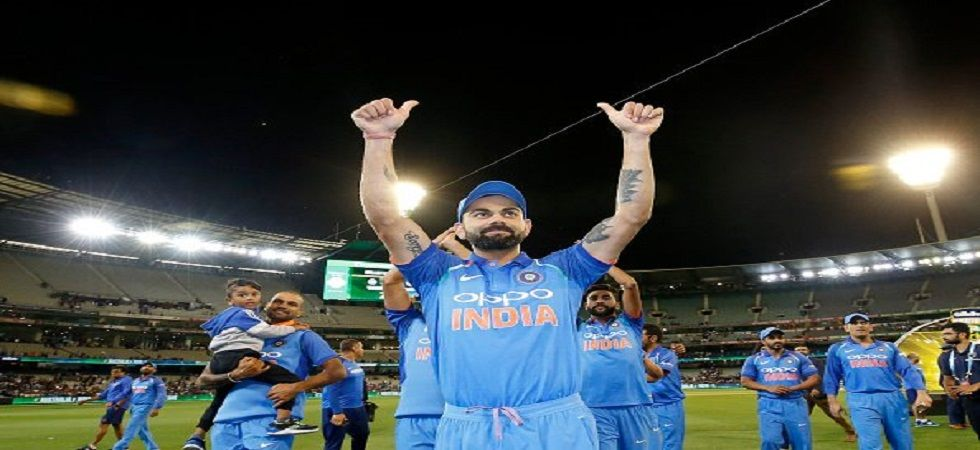 Virat Kohli's Indian cricket team has won three consecutive bilateral series in the 2018/19 season. (Image credit: Twitter)