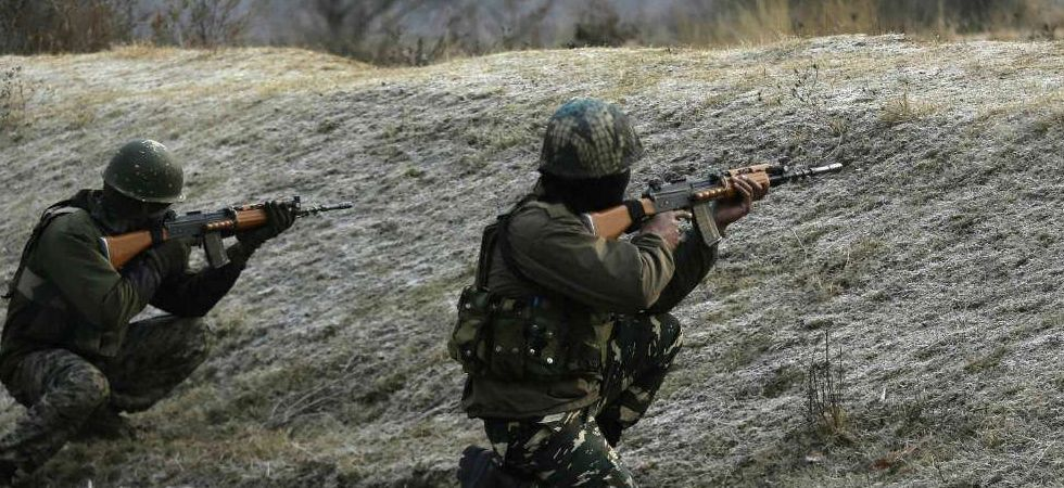 So far, three terrorists have been gunned down by the security forces in the encounter. (Representational 