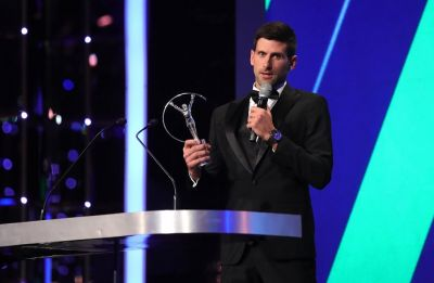 Novak Djokovic won the Laureus 'World Sportsman of the Year Award'
