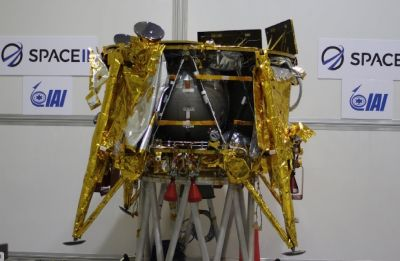 Israel's historic moon lander Beresheet to launch this week