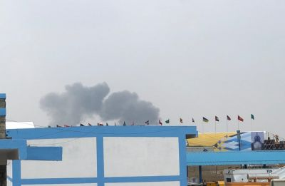 2 jets of IAF's Surya Kiran Aerobatics team crash at Bengaluru's Yelahanka airbase, both pilots safe