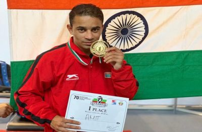 Amit Panghal, Indian Army soldier and boxer, dedicates gold medal to CRPF jawans killed in Pulwama